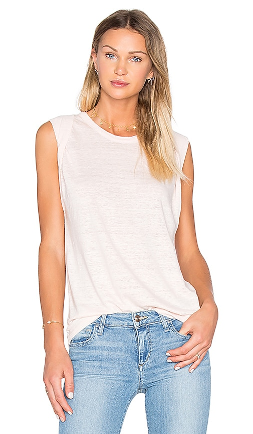 Joe's Jeans Roserai Tank in Peach