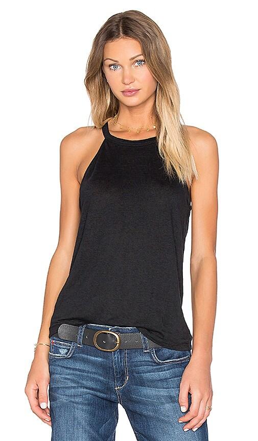 Joe's Jeans Vannie Halter Tank in Black