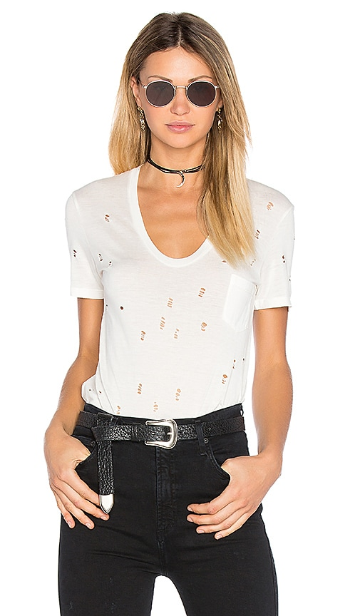 Joe's Jeans Gilles Tee in White