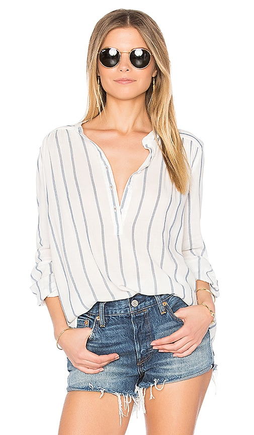 Joe's Jeans Sophie Blouse in Blue