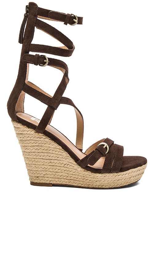 Joe's Jeans Temple Heel in Brown