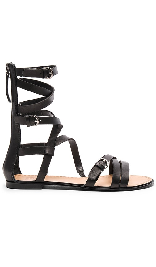 Joe's Jeans Teddy Sandal in Black