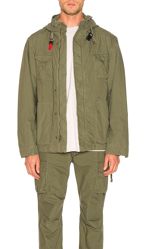 Military Zip Field Jacket