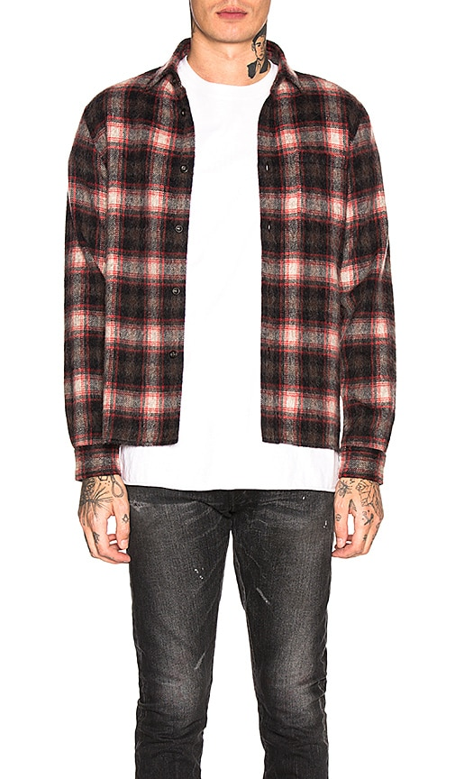Wool Flannel Shirt
