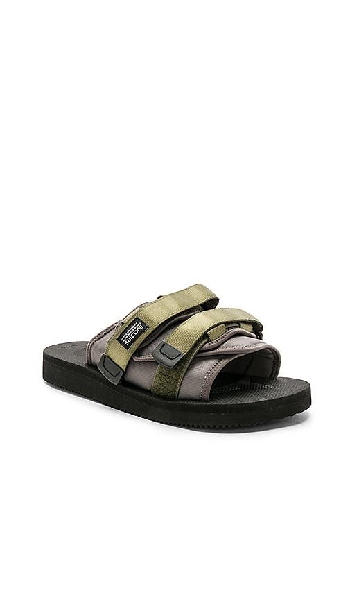 93ecdc15cc5 JOHN ELLIOTT x Suicoke Sandals in Black   Charcoal