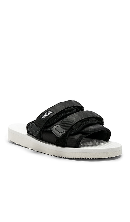 1fb0baecd1f JOHN ELLIOTT x Suicoke Sandals in White & Black | REVOLVE