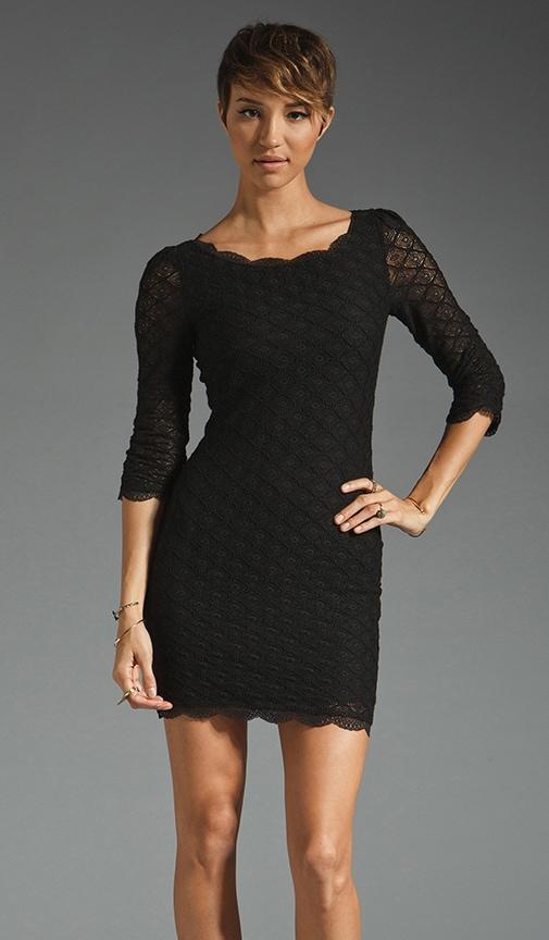 Tesia Geo Print Dress
