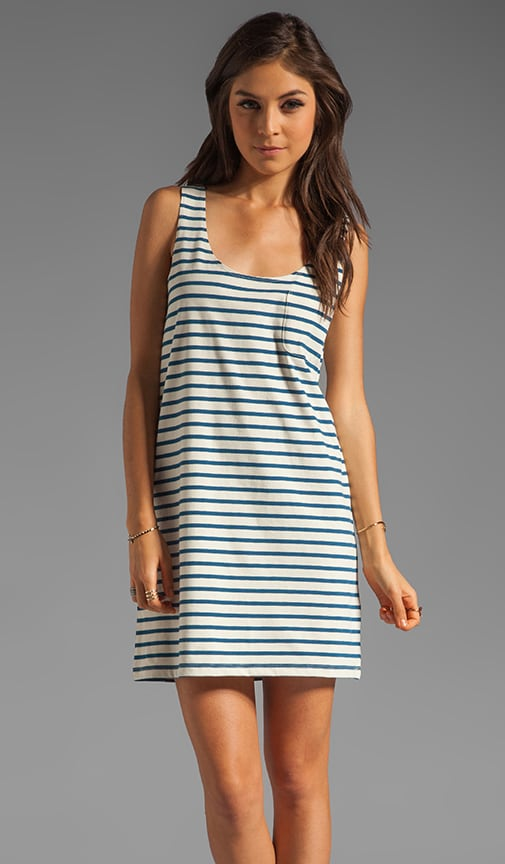 Dawna Striped Dress