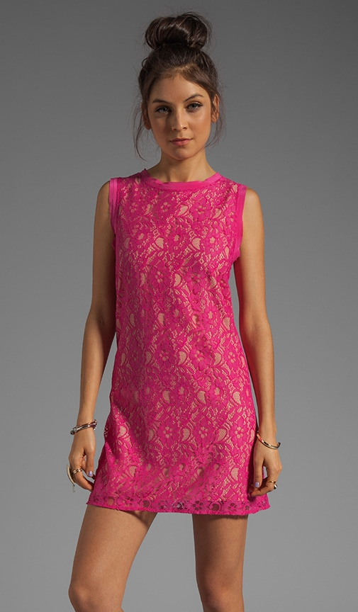 Isette Color Lace Dress