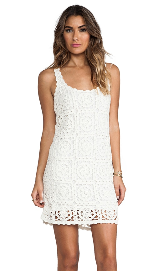 Elida Crochet Dress