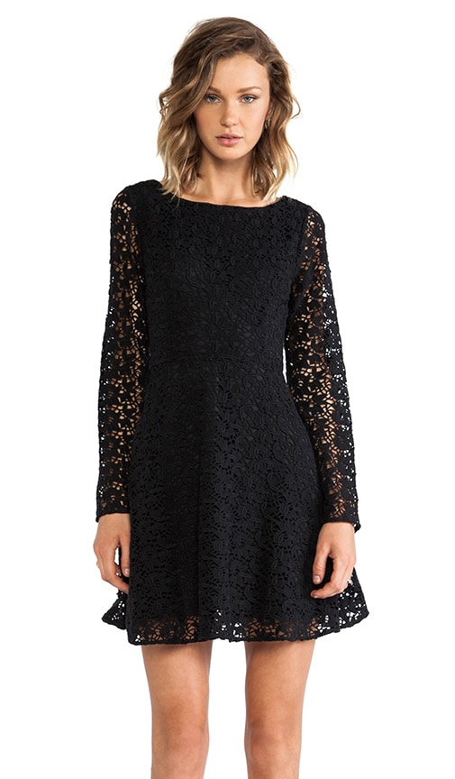 Heavy Cotton Lace Palmira Dress