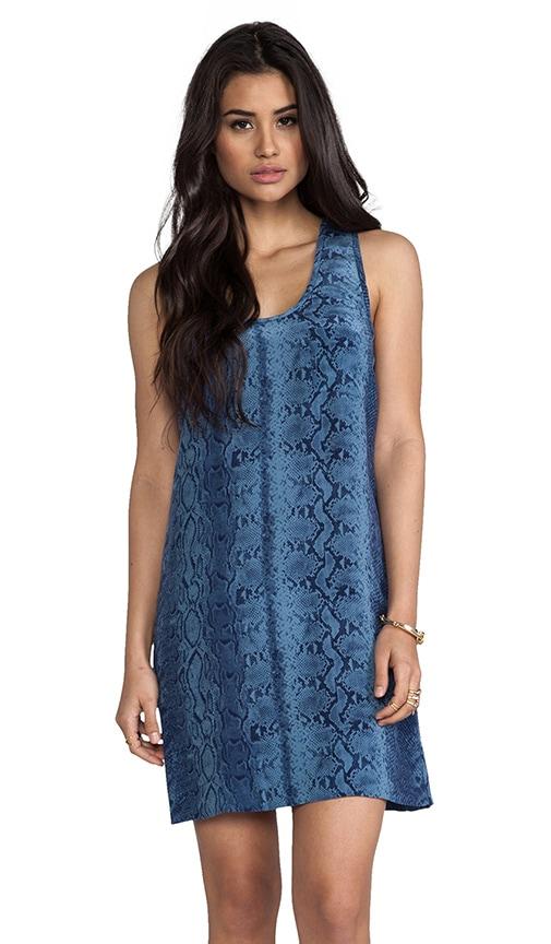 Peri B Snake Printed Dress