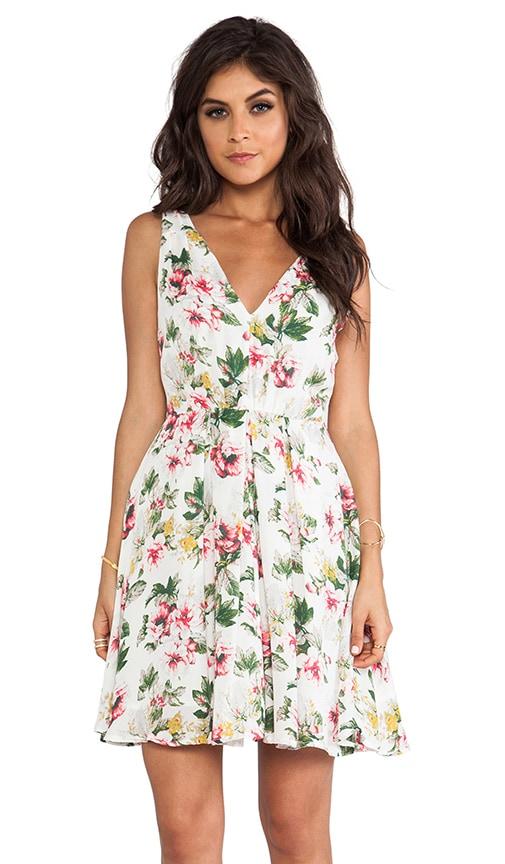 Haliah Cabbage Rose Dress