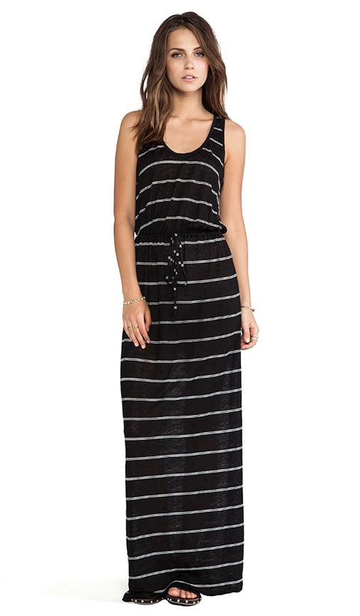 Kimani Mini Stripe Maxi Dress