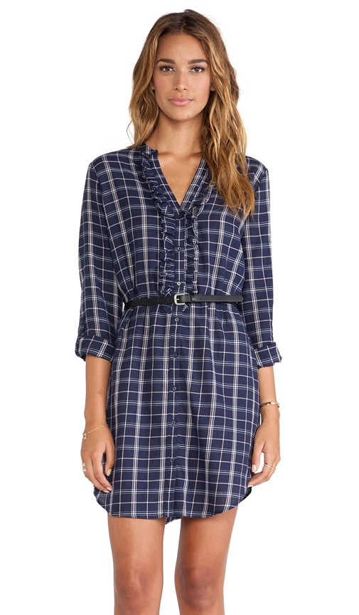 Jessalyn Plaid Dress
