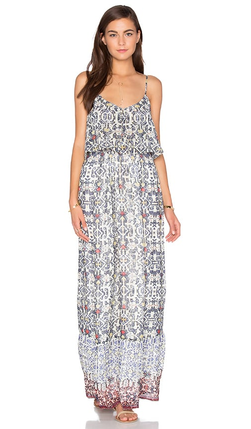 Joie Balla B Maxi Dress in Blue