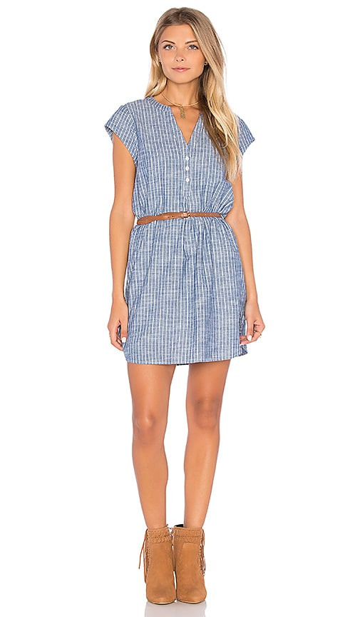 Joie Neha Chambray Dress in Blue