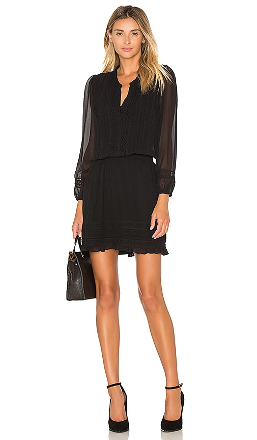 Joie Pima Silk Dress in Black