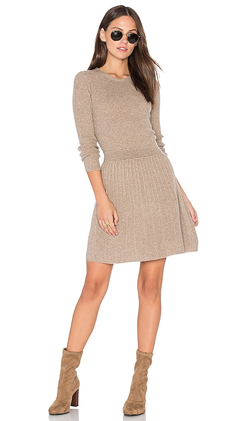 Joie Peronne Sweater Dress in Brown