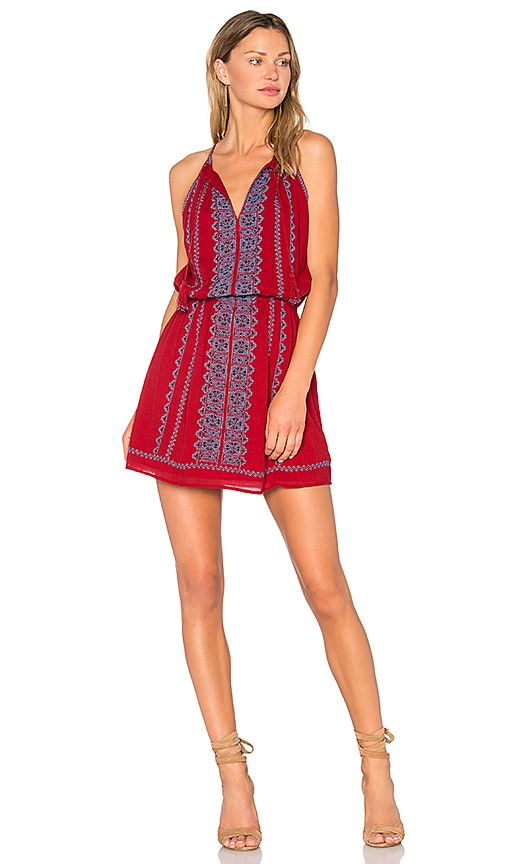 Joie Picard Dress in Red