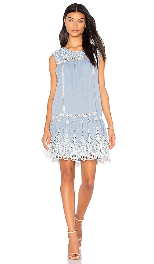 Joie Josune Dress in Blue