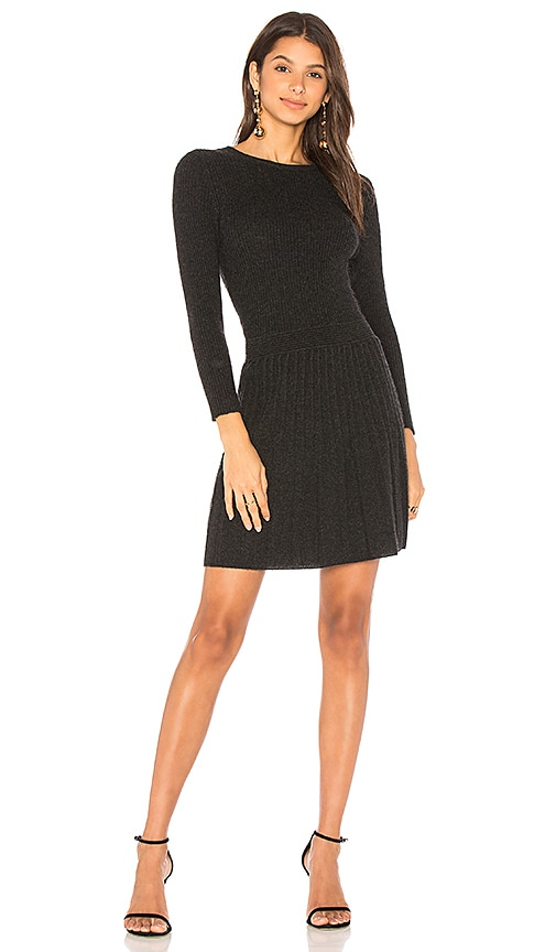 Joie Peronne Dress in Charcoal