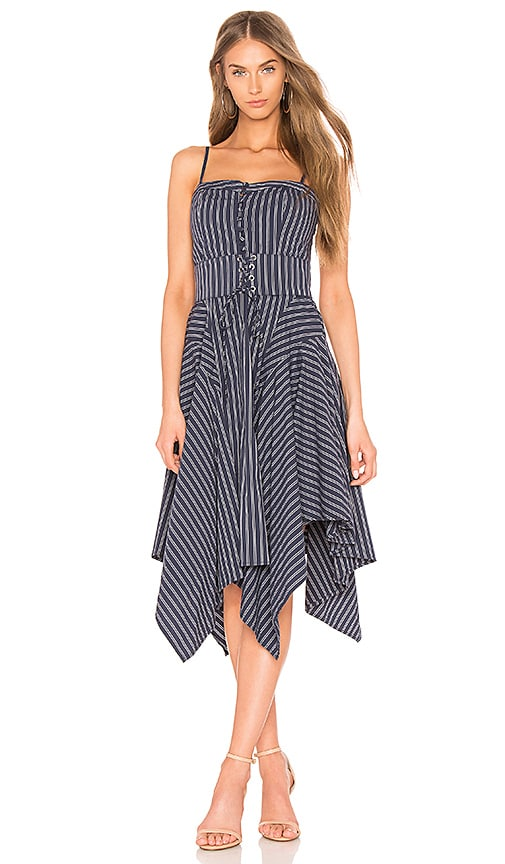 Joie Ronit Dress in Navy