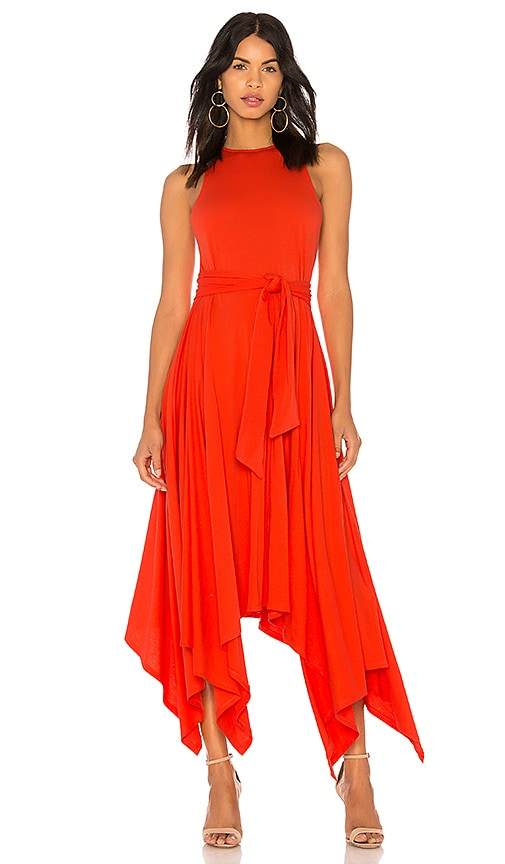 Joie Damonda Dress in Red
