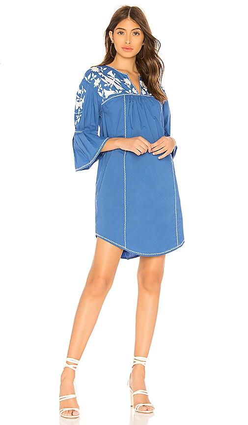 Joie Clodagh Mini Dress in Blue