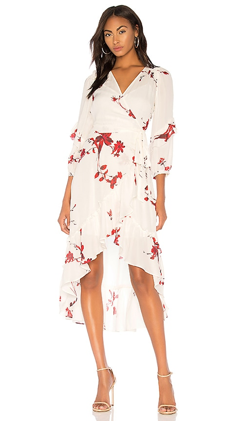 Anawrette Wrap Dress