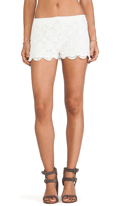 Maylie Crocheted Shorts