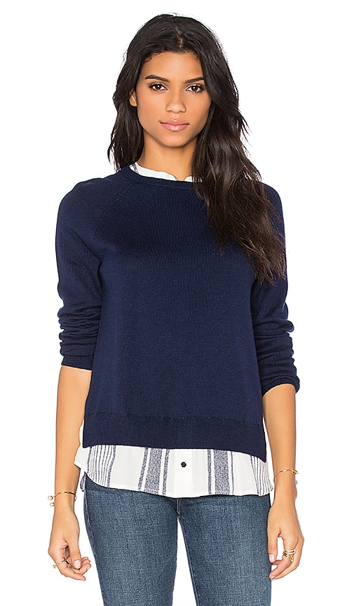 Joie Zaan Sweater in Dark Navy