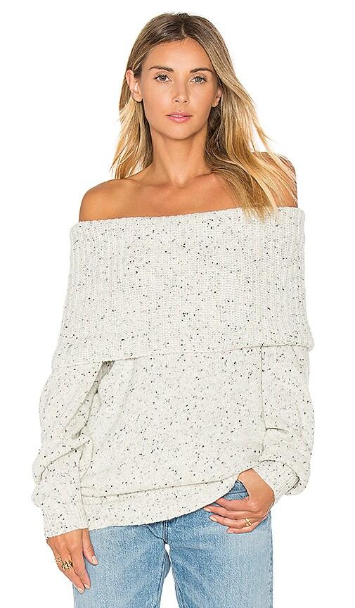 Joie Femie Cowl Neck Sweater in Beige