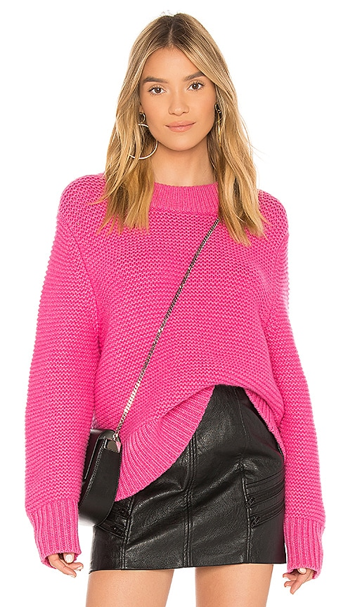 Joie Adeen Sweater in Fuchsia