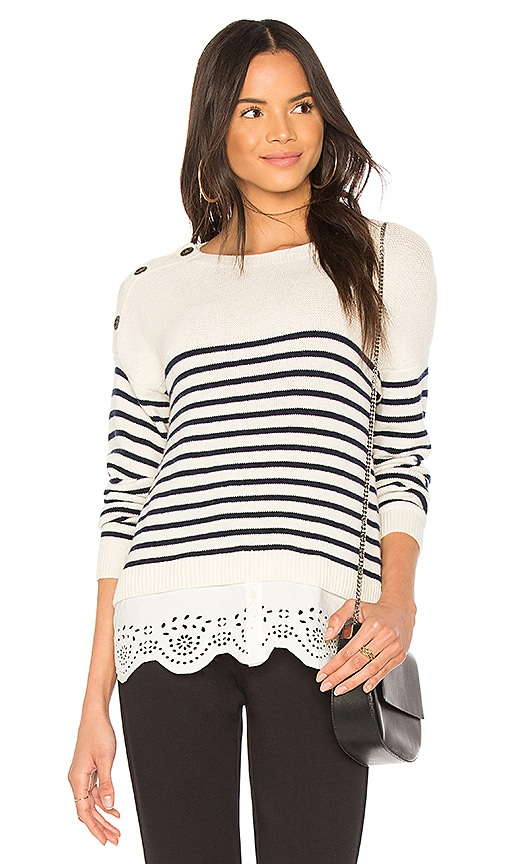Joie Aefre Sweater in White