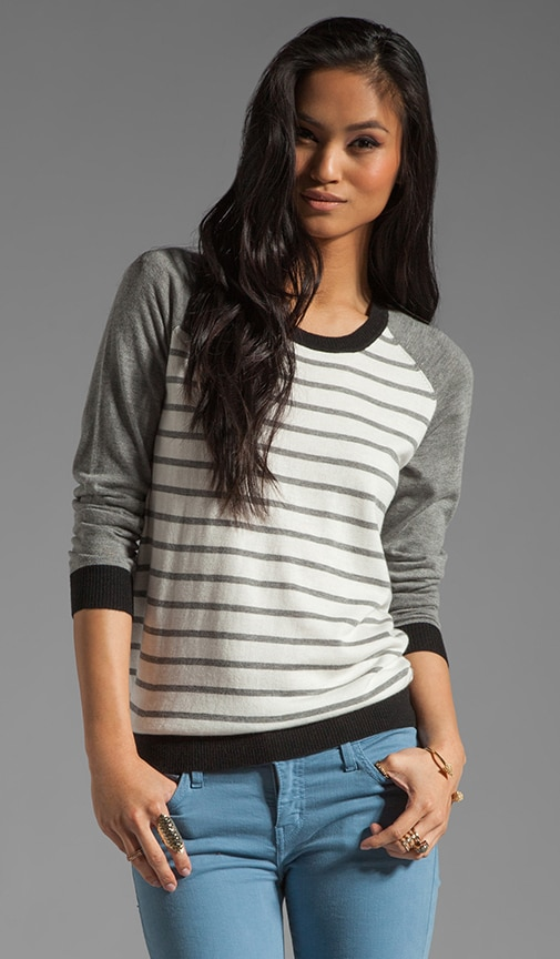 Jabel Color Block Stripe Sweater