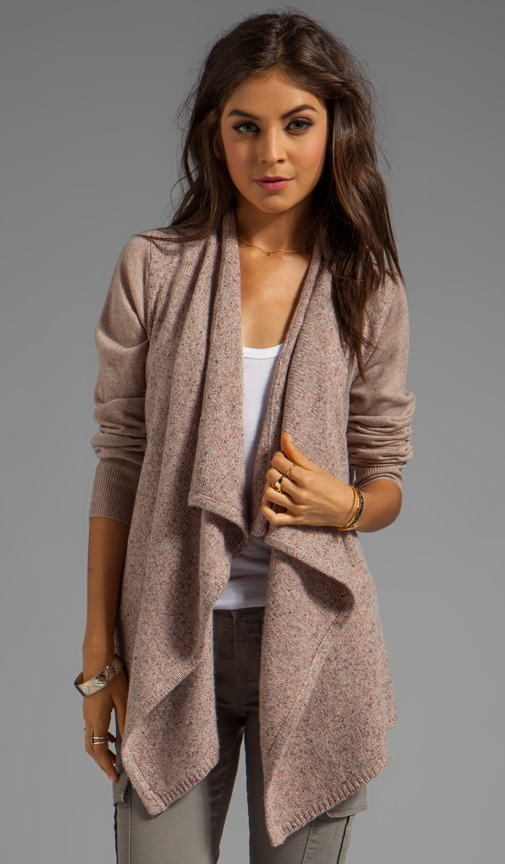 Solid With Marled Mix Starley Cardigan