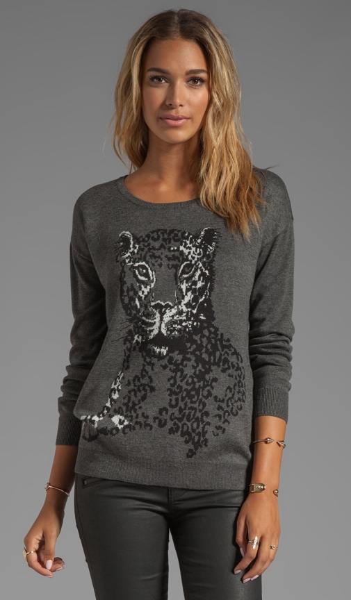 Animal Jacquard Shirlene Sweater