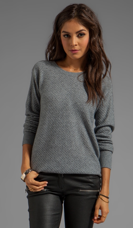 Diamond Stitch Knit Yuliya Sweater
