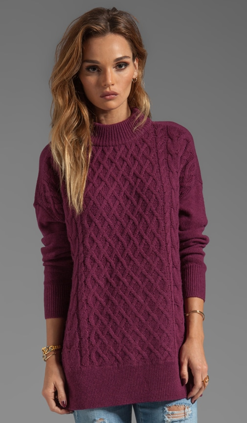 Classic Cable Bryanne Sweater