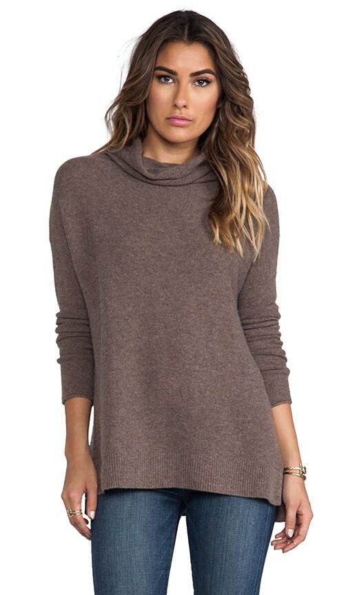 Reverse Pearl Stitch Cashmere Sweater