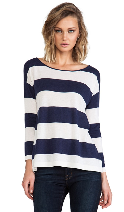 Briella Classic Stripe Pullover