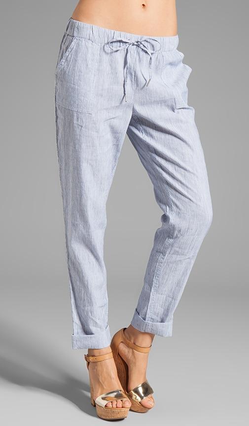 Edana B Textural Stripe Pant
