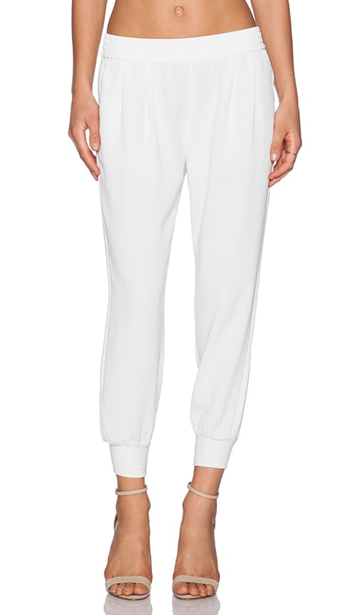 Joie Mariner Cropped Pant in White