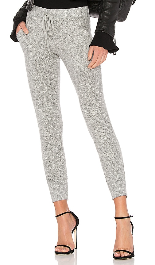 Joie Tendra Knit Pant in Gray