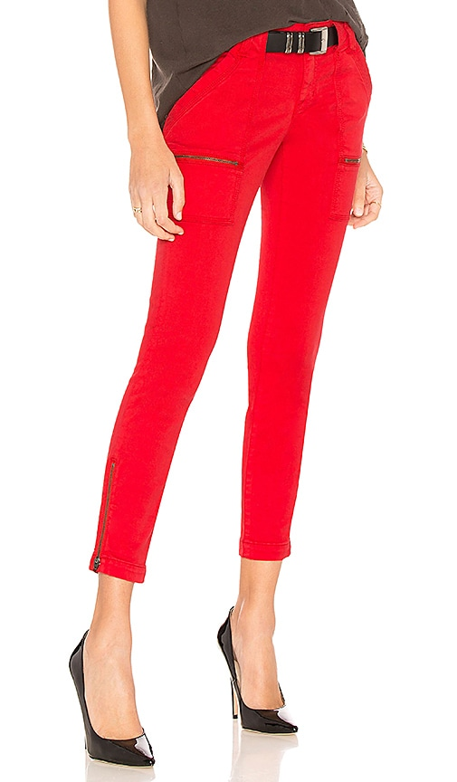 Joie Park Skinny Pant in Matador Red
