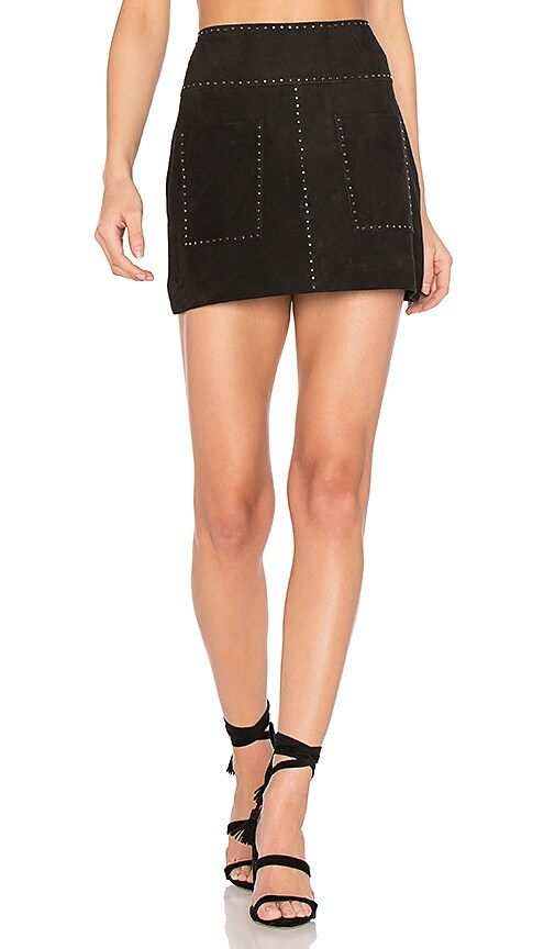 Joie Guadalupe Skirt in Black