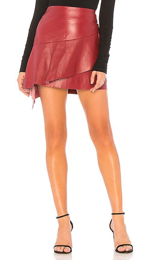 e32e7819f Joie Botan Skirt in Cambridge Red | REVOLVE