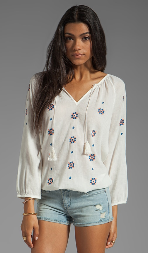 Layann Embroidery Top