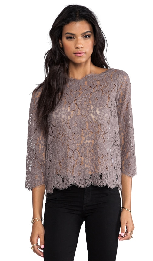 Allover Lace Elvia C Top